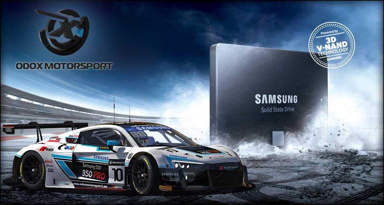 Las unidades SSD 850 Pro de Samsung permitirán a los pilotos competir con la máxima velocidad de carga en la plataforma de simulación de conducción iRacing