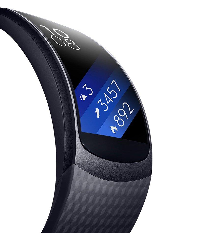 Sale a la venta la pulsera inteligente Samsung Gear Fit2