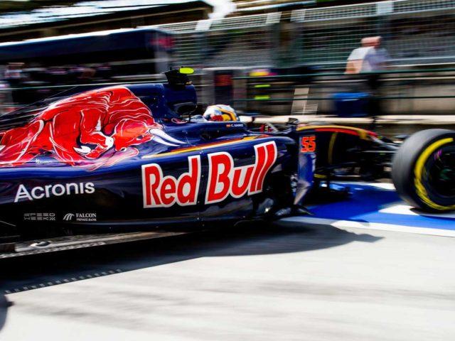 Acronis patrocinará la escudería Toro Rosso
