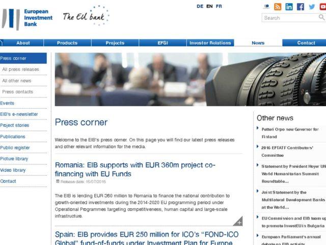El BEI aporta 250 millones de euros al fondo de fondos del ICO
