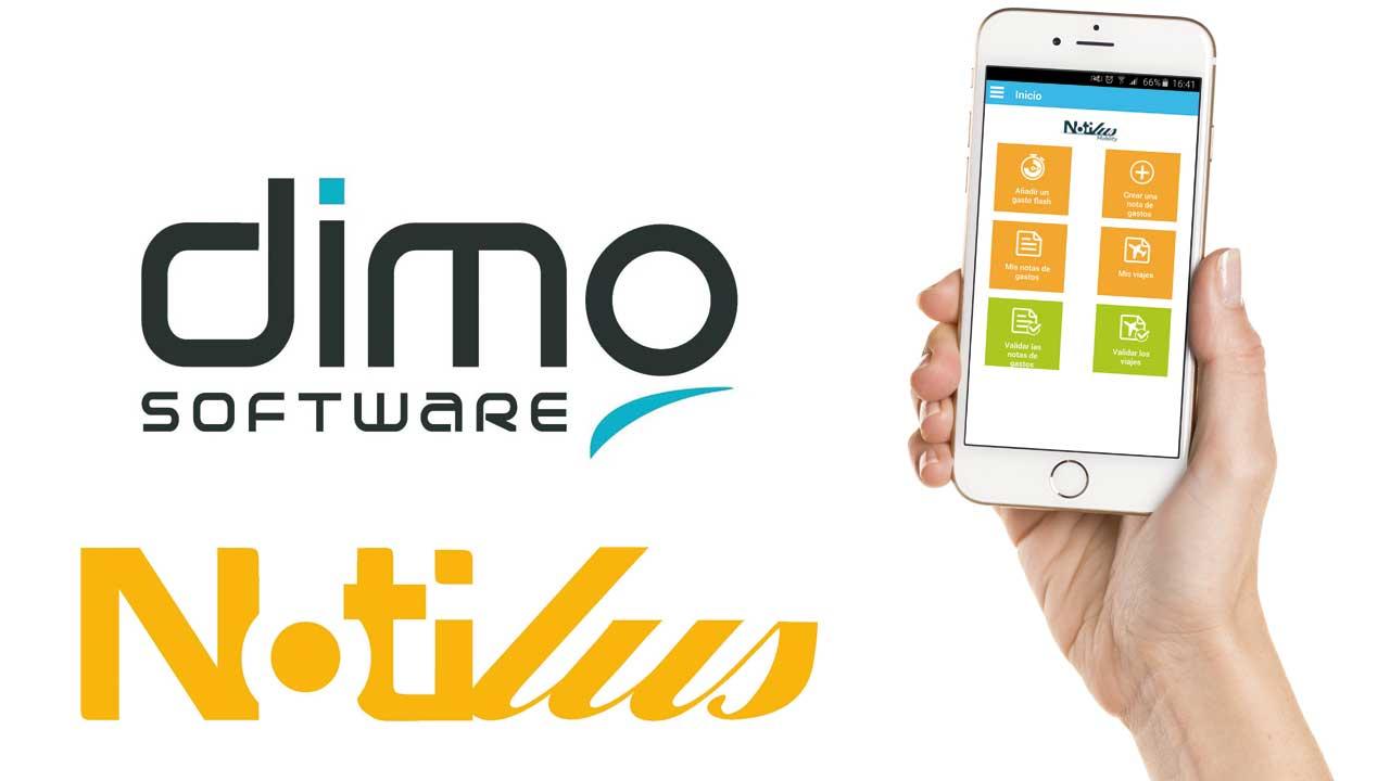 DIMO Software renueva su solución Notilus para la gestión de las notas de gastos y viajes profesionales