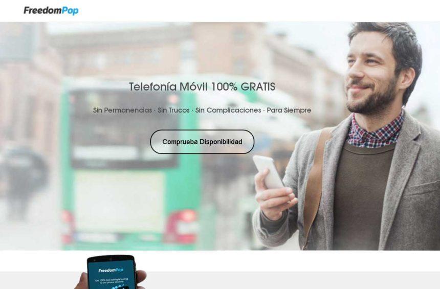 servicio móvil totalmente gratuito en España que incluye voz, datos, SMS y WhatsApp sin coste para siempre