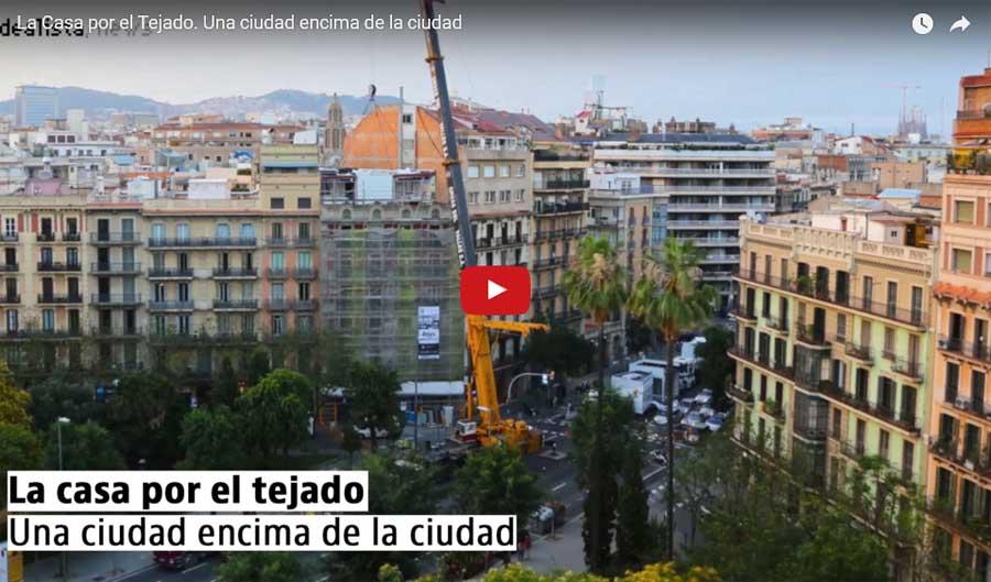 Construir sobre los tejados o cuando se levanta una nueva ciudad encima de la ciudad