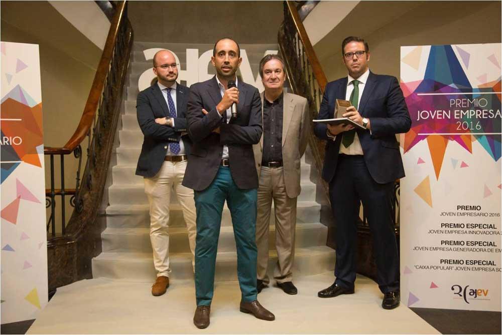 Maxi Gavilán, General Manager de MyWigo, elegido empresario joven del año en Valencia