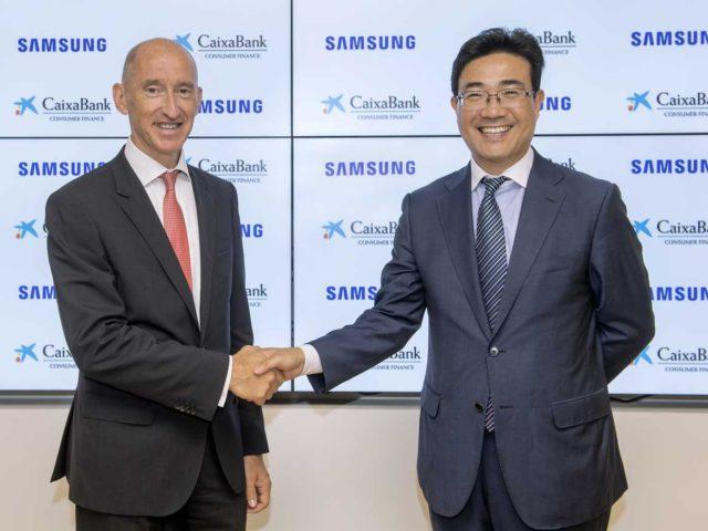 Samsung firma un acuerdo con CaixaBank