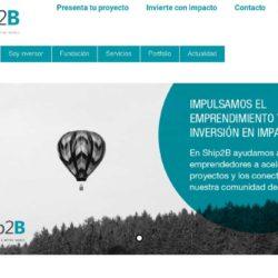 Fundación Ship2B apuesta por la tecnología de alto impacto social