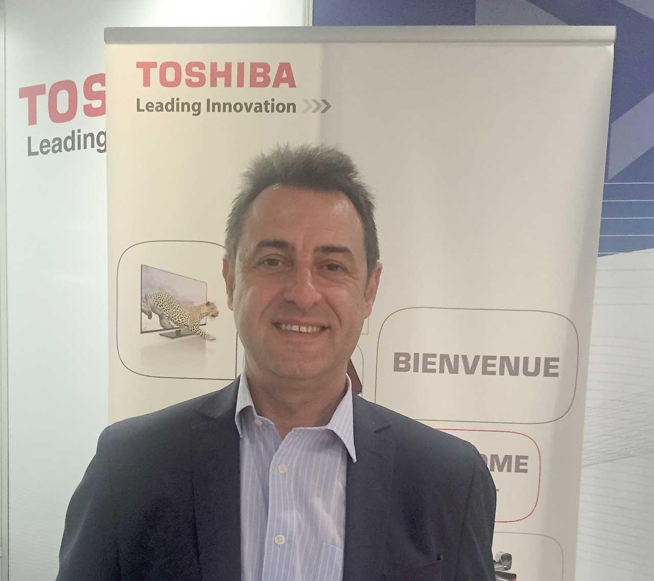 Toshiba ha nombrado a Luis Polo nuevo director comercial de su filial en España