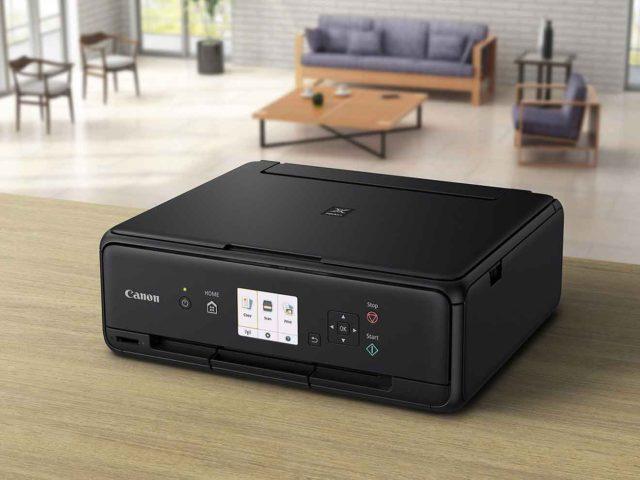 Disfruta de impresiones de alta calidad con las elegantes impresoras domésticas Tres-en-Uno de Canon