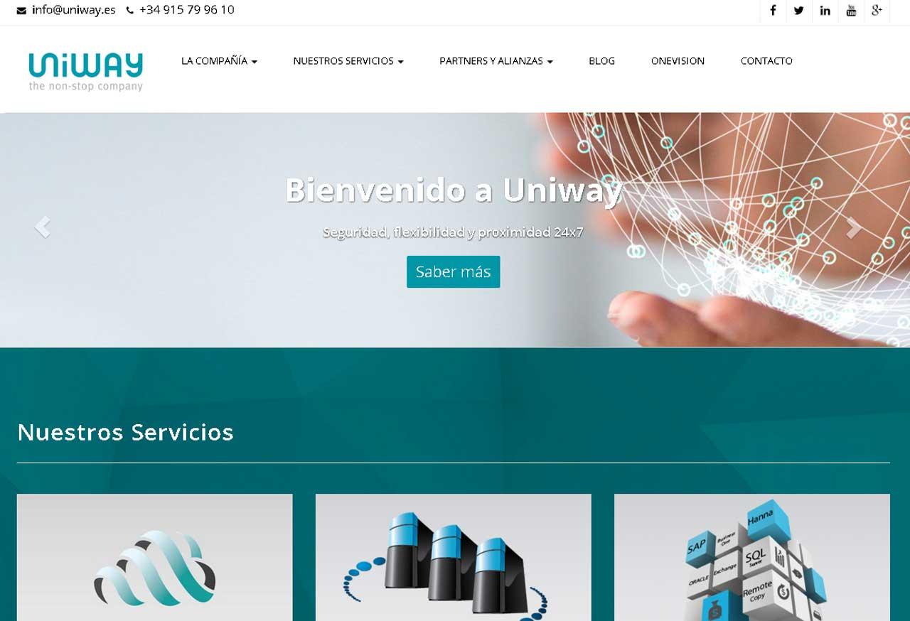 Uniway utiliza la tecnologia Netapp