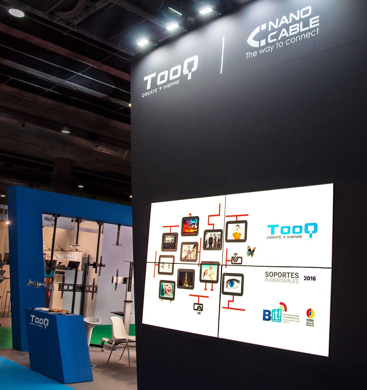 TooQ mostrará en Matelec la mayor gama de cables de alta calidad y de soportes para audiovisuales