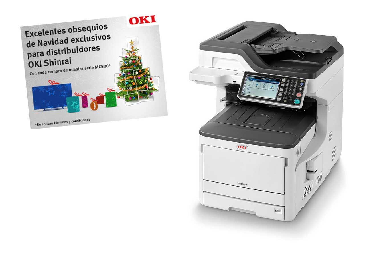 OKI Europe se deja llevar por el espíritu navideño con una promoción de obsequios exclusiva para partners