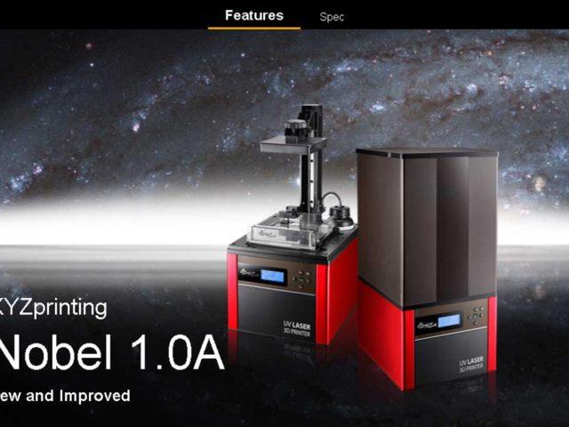 XYZprinting presenta su impresora 3D Nobel 1.0A