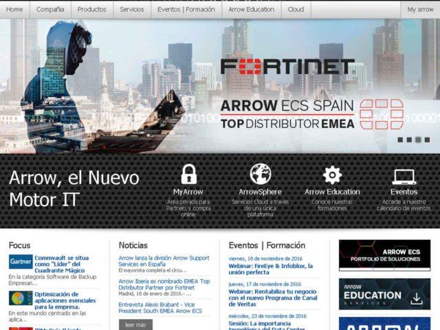 Arrow nuevo distribuidor de las soluciones de Veeam