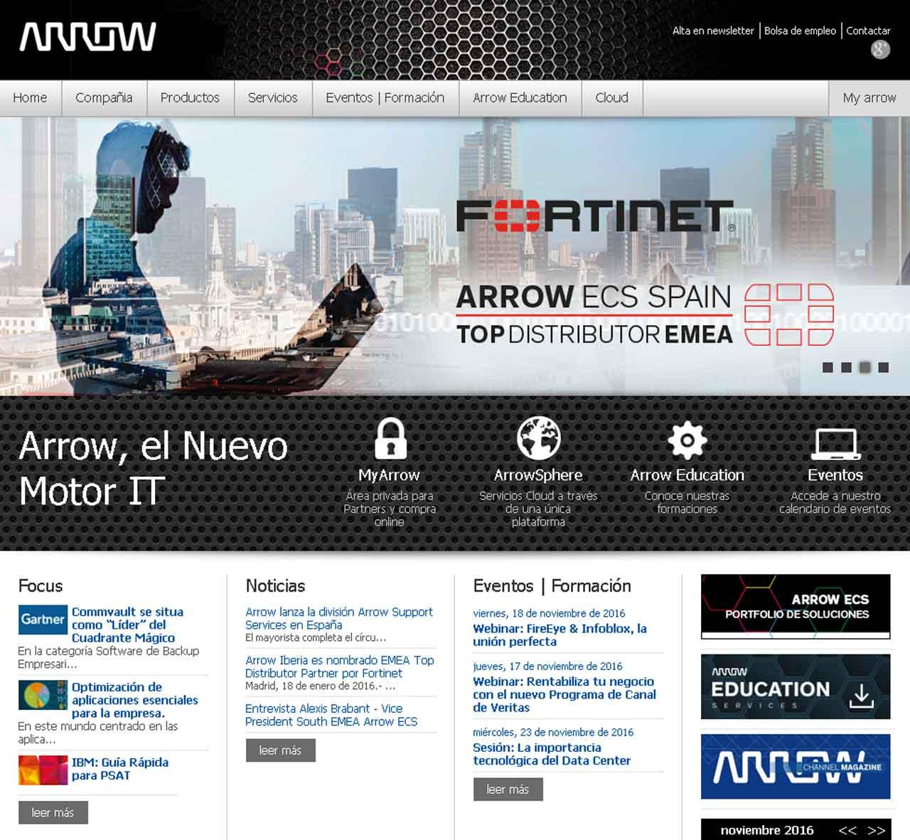 Arrow se convierte en nuevo distribuidor de las soluciones de disponibilidad de Veeam