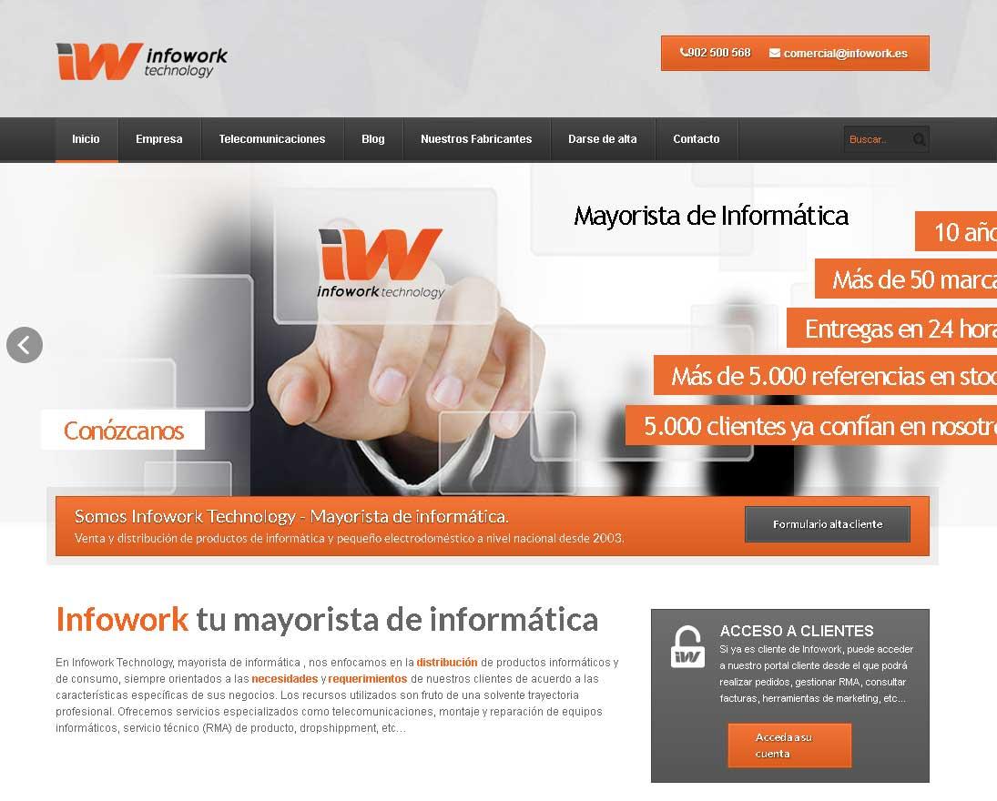 infowork mayoristas informatica