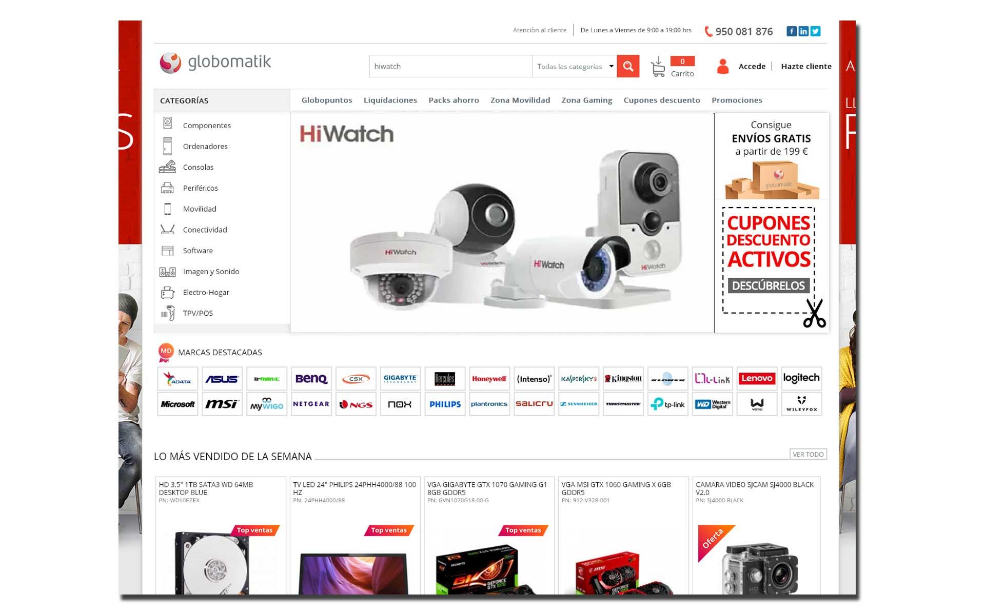 acuerdo globomatik y HiWatch