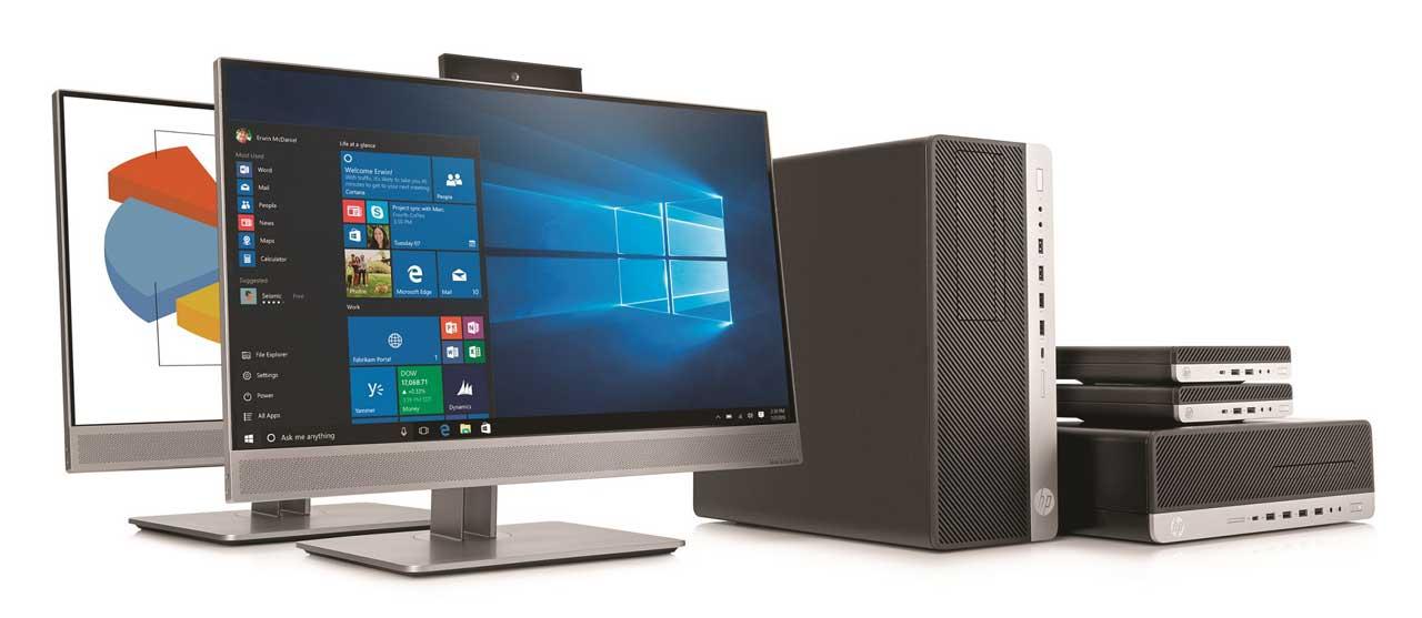 HP cambia la imagen de la oficina con su nueva línea de equipos de sobremesa y AiO