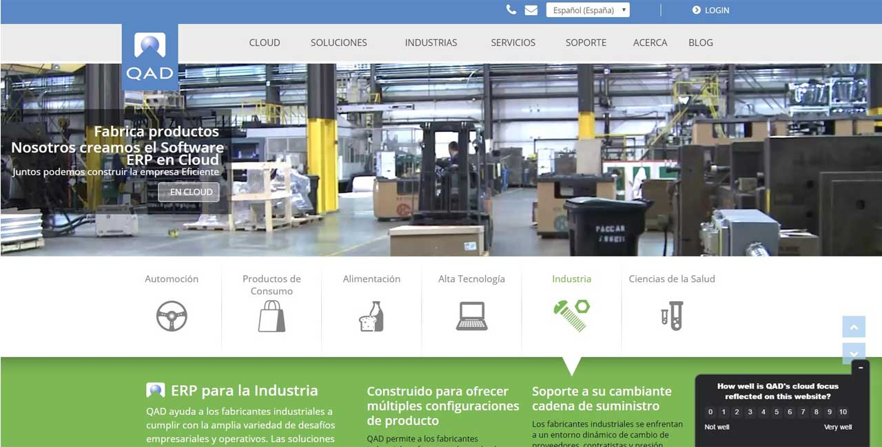 Amtico International implanta el ERP en la nube de QAD