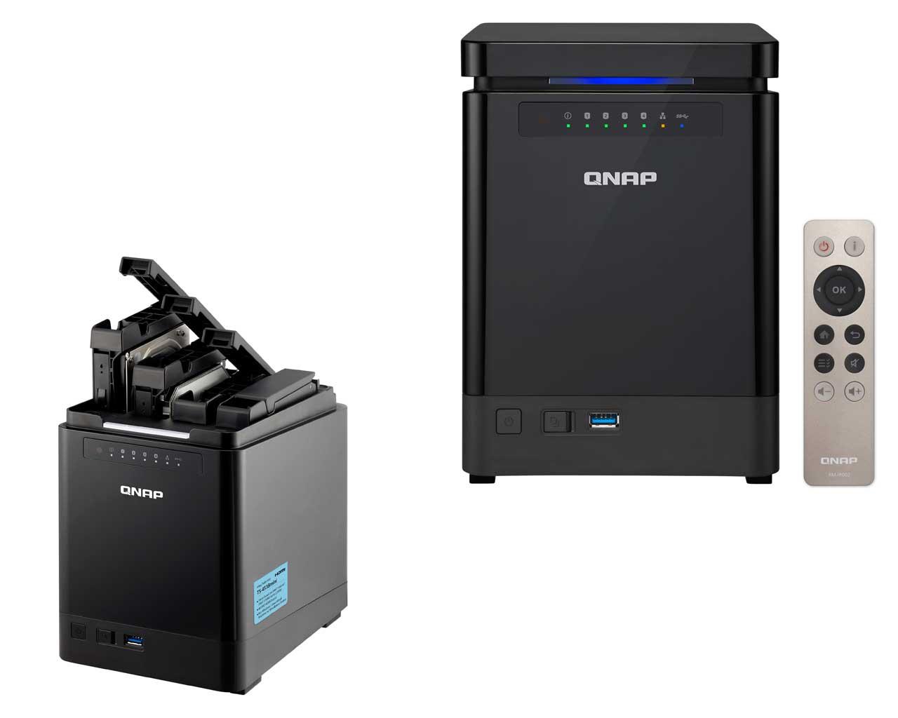 QNAP lanza el TS-453Bmini: un elegante y compacto NAS Vertical para hogares y pequeñas oficinas