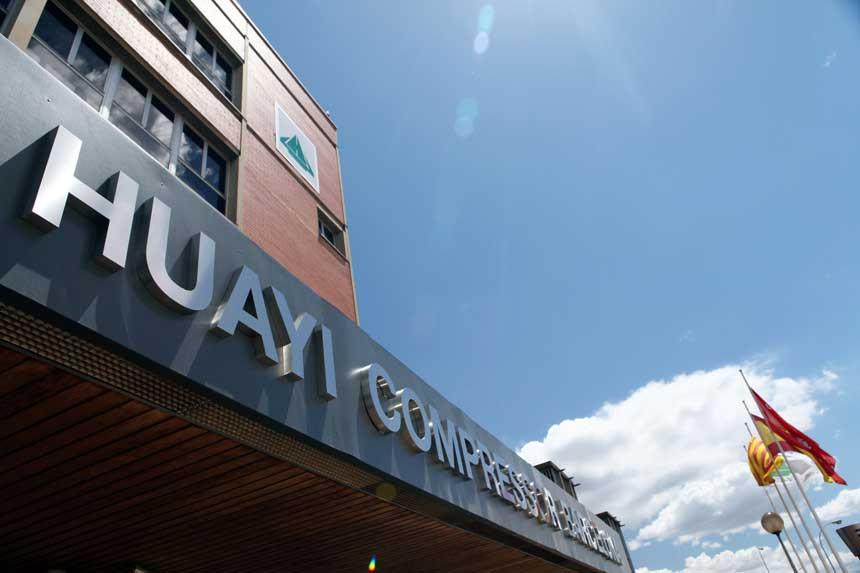Huayi Compressor Barcelona mejora de la Gestión Horaria de sus empleados