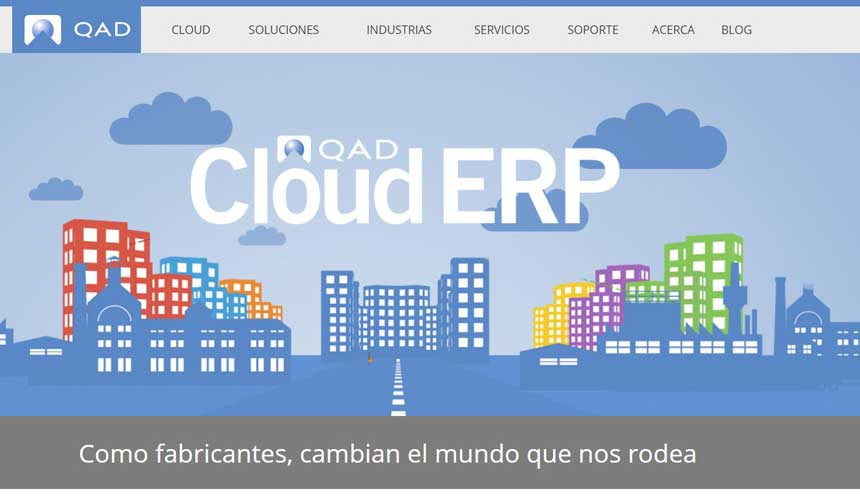 Dynamatic UK migra a QAD Cloud ERP