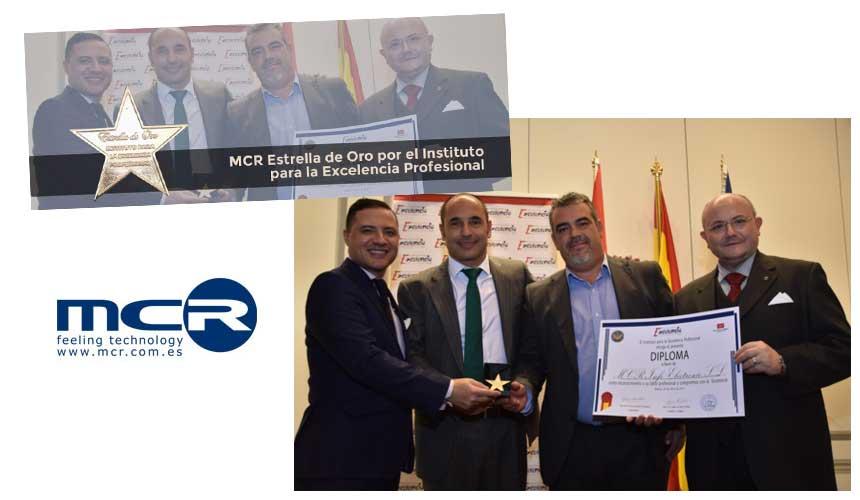 MCR, Estrella de Oro por el Instituto para la Excelencia Profesional