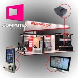 posiflex presente en computex 2017