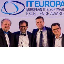 Unit4 gana el premio a la Solución Empresarial del Año en los European IT & Software Excellence Awards