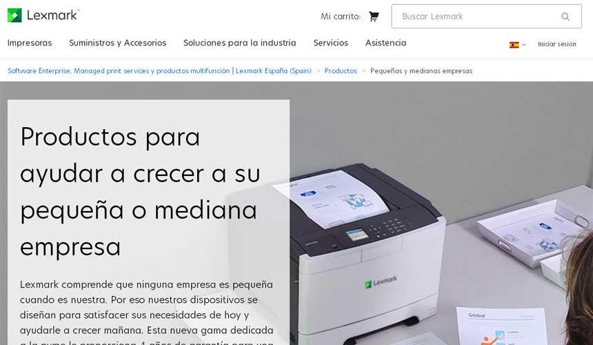 Lexmark lanza una gama exclusiva de impresoras láser optimizadas para pymes