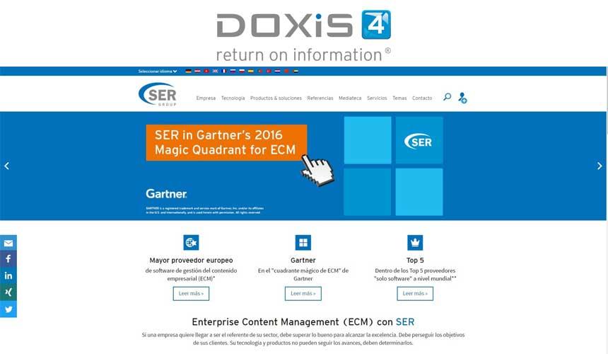 DOXiS4 se convierte en la primera solución ECM