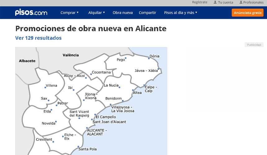 El precio medio de un ático en España cae un 1,32% y el de un bajo un 1,44% frente al año pasado