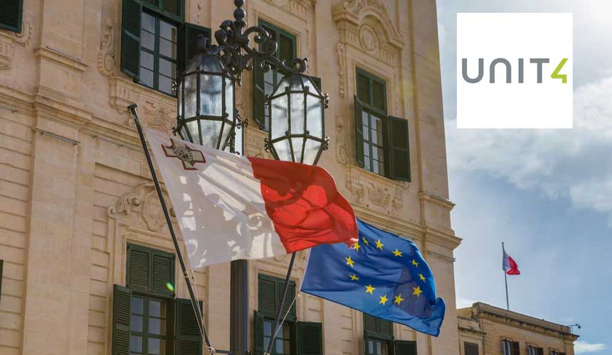 """Unit4 seleccionada por el Gobierno de Malta para aplicar un cambio """"revolucionario"""" en el control de sus finanzas"""