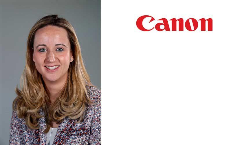 Gema Escudero, nombrada nueva responsable de Sostenibilidad en Canon España