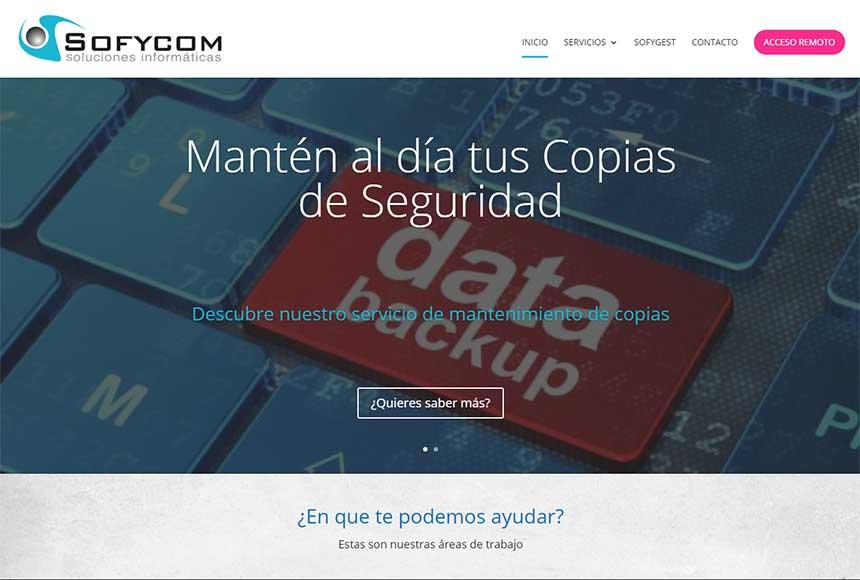Sofycon estrena nueva web