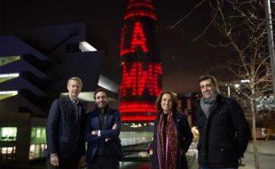Barcelona se ilumina para dar la bienvenida a una nueva edición de Mobile World Congress