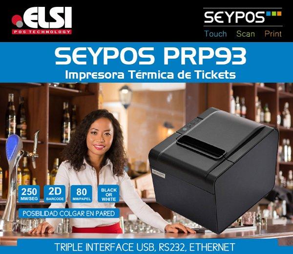 seypos, impresora termica de tickets