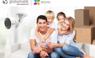 Con Ezviz tienes una solución completa en sistemas de seguridad