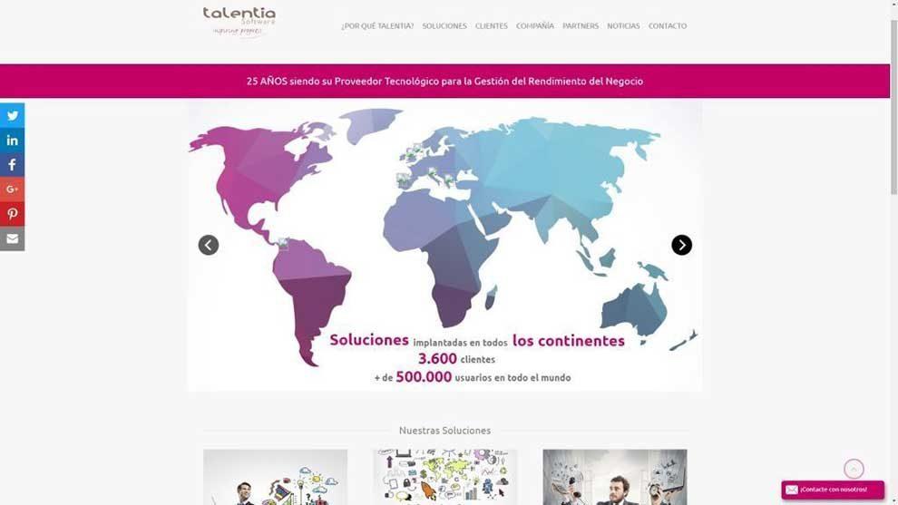 Talentia Software da un nuevo enfoque a los datos de RRHH con Talentia Core HR