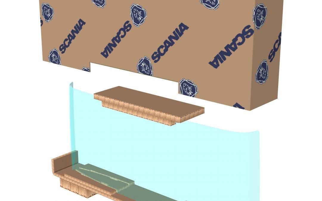 Smurfit Kappa colabora con Scania para crear una solución de embalaje sostenible que optimiza su cadena de suministro