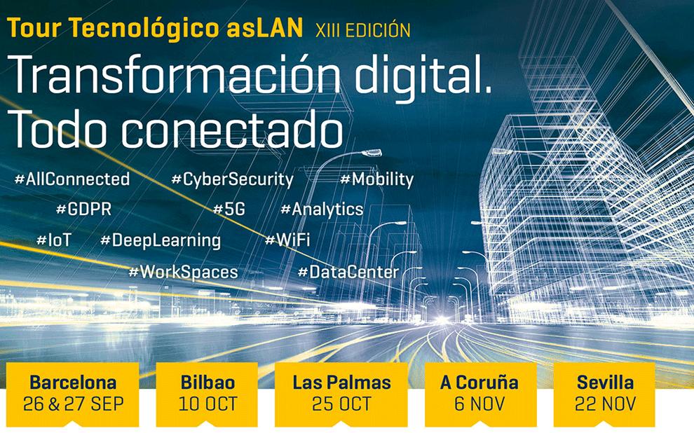 MCR muestra lo último en tecnología para entornos corporativos en el Tour Tecnológico ASLAN 2018