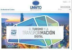 La transformación digital y la innovación, protagonistas del Día Mundial del Turismo en 2018