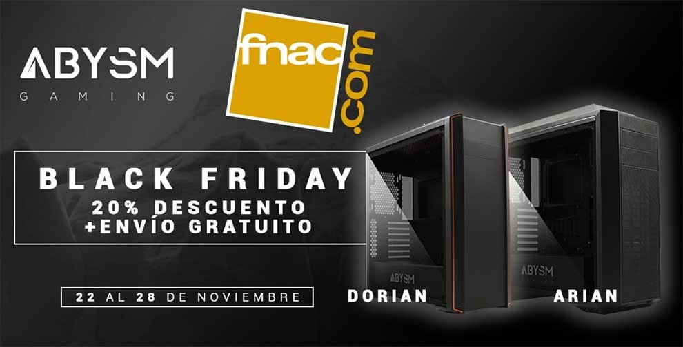 Black Friday en Abysm de la mano de Fnac