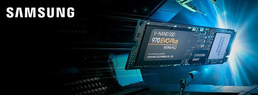 Samsung Electronics mejora el rendimiento de sus memorias SSD NVMe con 970 EVO Plus