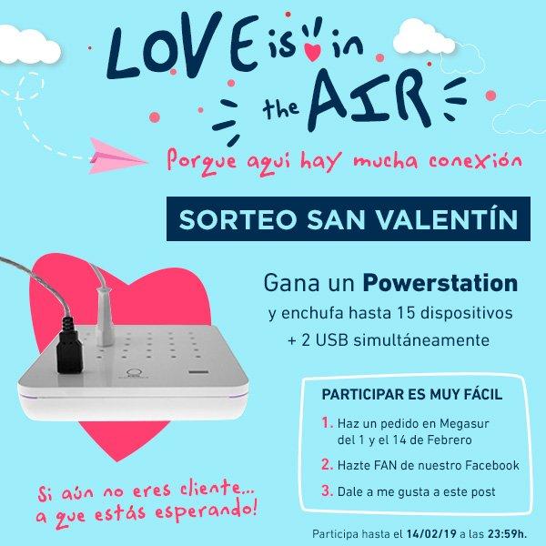 San Valentín 2019 en Megasur