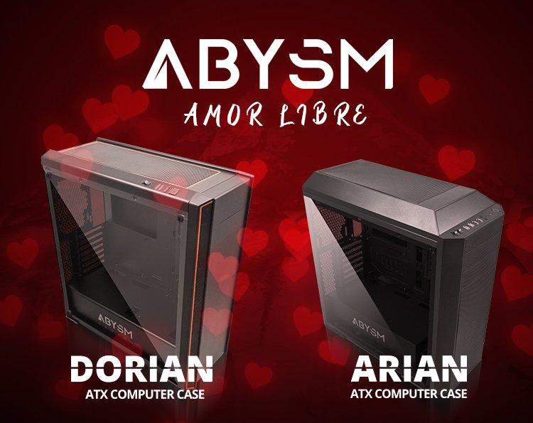 Arian y Dorian: amor libre por San Valentín