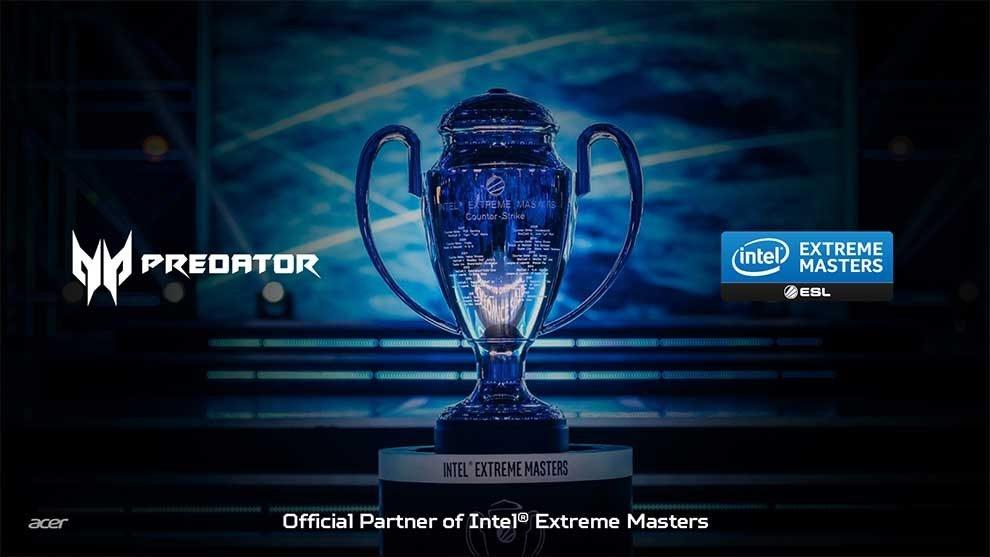 ESL renueva su colaboración con Acer para las Intel® Extreme Masters