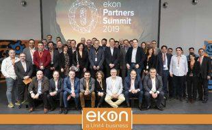 Los partners lideran las ventas de ekon durante 2018