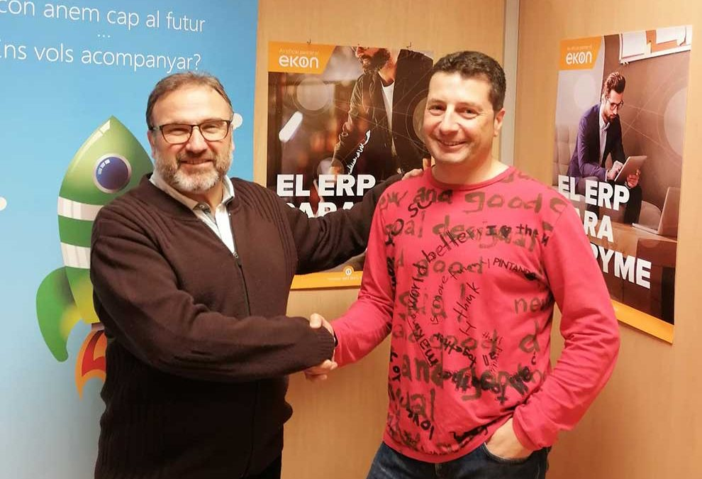 Estudiantes de Grado Superior en Aplicaciones Web utilizarán ekon ERP en las aulas