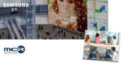 MCR PRO firma un acuerdo con Samsung para la distribución en España de sus productos de AV Pro
