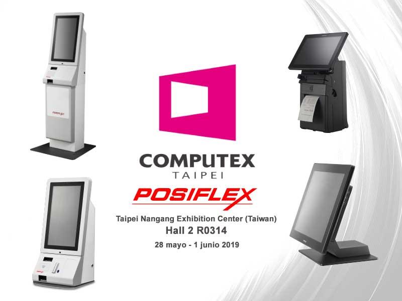 Posiflex estará presente como cada edición en Computex